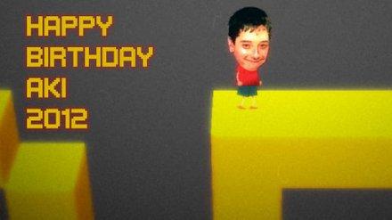 Happy Birthday Aki 2012